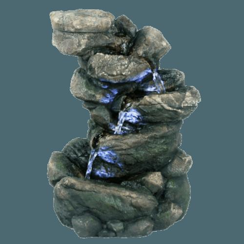 Umělá fontána z polyresinu - Závětří