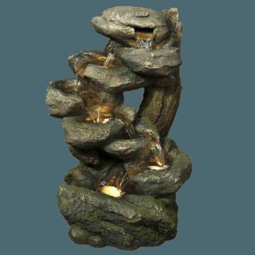 Středně velká umělá fontána Soutěska