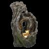 Malá dřevěná fontána Oko