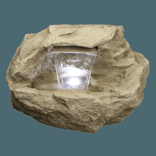 Středně velká pískovcová fontána: Slať
