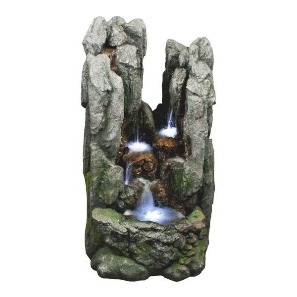 Velká umělá fontána z polyresinu Rokle