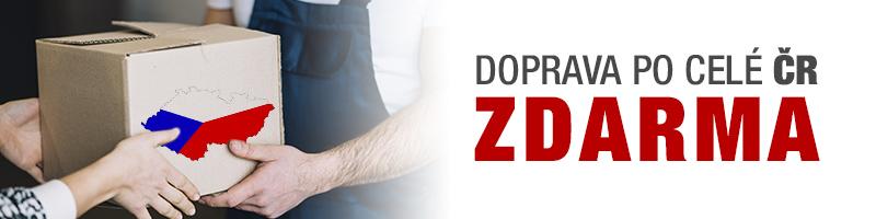 Banner doprava po ČR zdarma