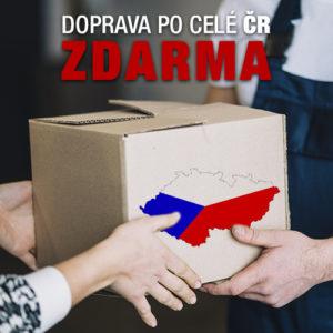 S novým webem nové ceny a doprava po celé ČR ZDARMA