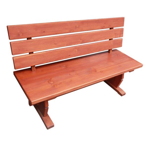 Zahradní set dřevěného nábytku z masivu modřínu o délce 150 cm