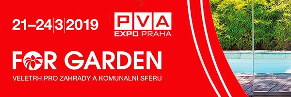 Naše fontány k vidění na veletrhu FOR GARDEN v Praze