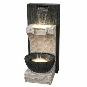 Moderní průtoková fontána