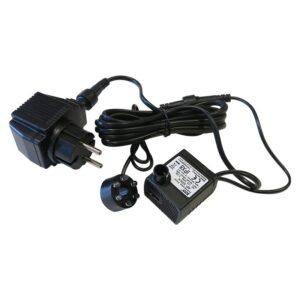 Jezírkové a fontánové čerpadlo AP-333LV + LED diody, 12V, 2,5W, 150 l/hod, 60 cm
