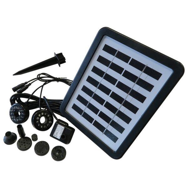 Solární panel s vodním čerapdlem