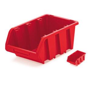 Plastový úložný box TRUCK 115x80x60 červený