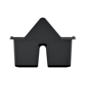 Přepravka na nářadí s kov. držadlem CARGO černá 400x220x170